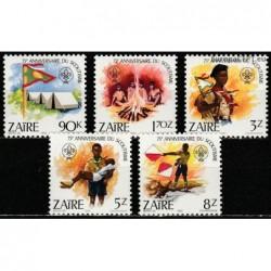 Zaire 1982. Scout Movement