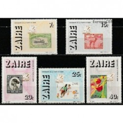 Zaire 1986. Stamps on stamps