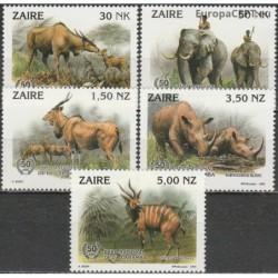 Zaire 1993. Garamba...