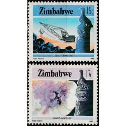Zimbabwe 1985. Mining...