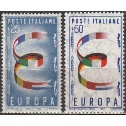 Italija 1957. Žemės ūkis ir...