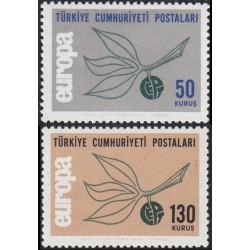 Turkija 1965. CEPT: paštas,...