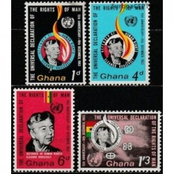 Ghana 1963. Human rights...