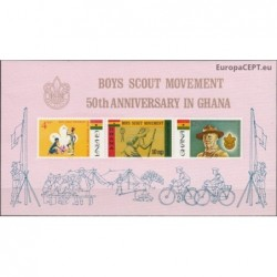 Ghana 1967. Scout Movement
