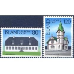 Iceland 1978. Architecture...
