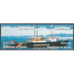 Gvinėja 1998. Greenpeace...