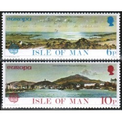 Isle of Man 1977. Landscapes