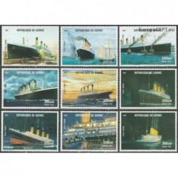 Guinea 1998. R.M.S. Titanic