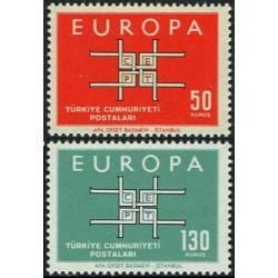 Turkey 1963. CEPT: Stylised...