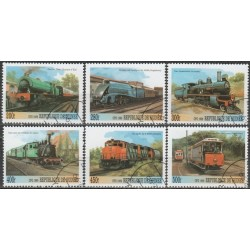 Guinea 1999. Locomotives