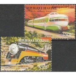 Guinea 2001. Trains