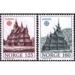 Norway 1978. Architecture...