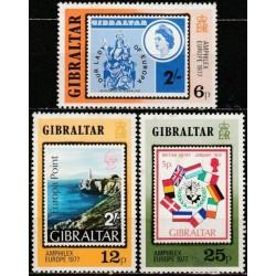 Gibraltar 1977. Landscapes
