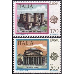 Italija 1978. Architektūros...