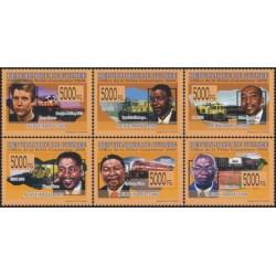 Guinea 2008. Rail transport...