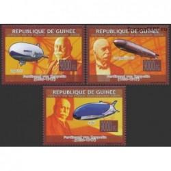 Gvinėja 2009. Dirižabliai