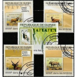 Guinea 2009. Stamps on...