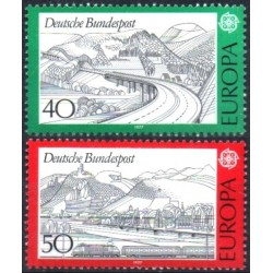 Germany 1977. Landscapes
