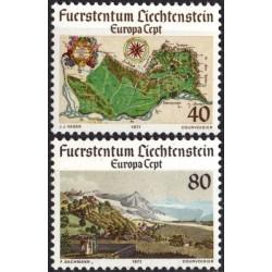 Liechtenstein 1977. Landscapes