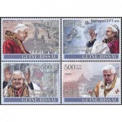 Guinea-Bissau 2008. Pope...