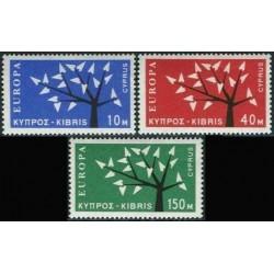 Cyprus 1962. CEPT: Stylised...