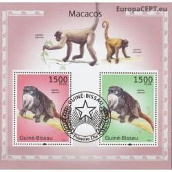 Bisau Gvinėja 2010. Beždžionės