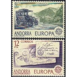 Andora (isp) 1979. Paštas...