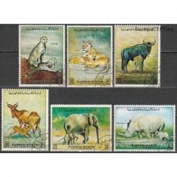 Ajman 1972. Wild animals