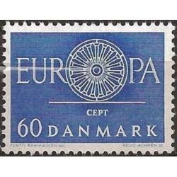 Danija 1960. Stilizuotas...