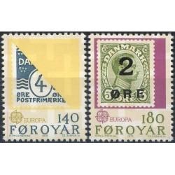 Farerų salos 1979. Paštas...