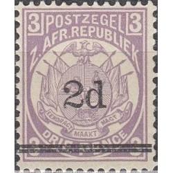 Transvaal (ZAR) 1887. Coats...
