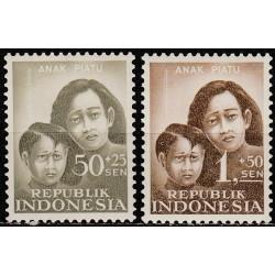 Indonesia 1958. Children