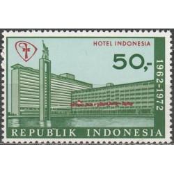 Indonesia 1972. Hotel