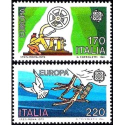 Italija 1979. Paštas ir ryšiai