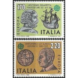 Italija 1980. Žymūs žmonės