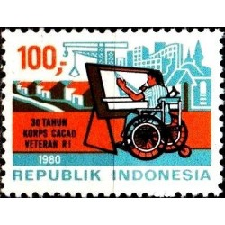 Indonesia 1980. Disability