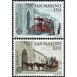 San Marinas 1979. Paštas ir...