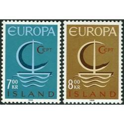 Iceland 1966. CEPT:...