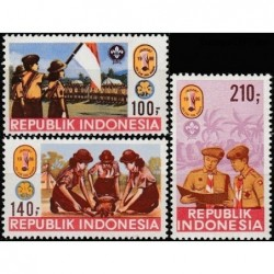 Indonesia 1986. Scout Movement