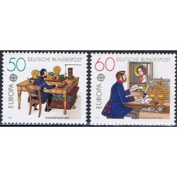 Vokietija 1979. Paštas ir...