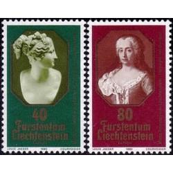 Liechtenstein 1980. Famous...