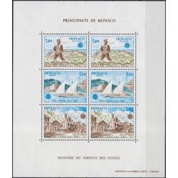 Monakas 1979. Paštas ir ryšiai