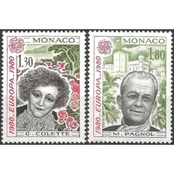 Monakas 1980. Žymūs žmonės