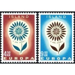 Islandija 1964. CEPT:...
