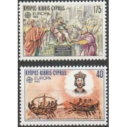 Cyprus 1982. Historic Events