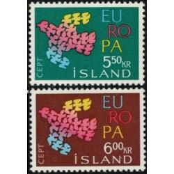 Islandija 1961. CEPT: CEPT:...