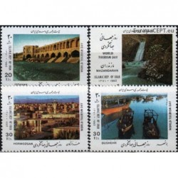 Iran 1992. World Tourism Day