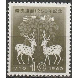 Japan 1960. Sika deers