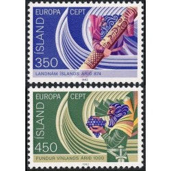 Iceland 1982. Historic Events