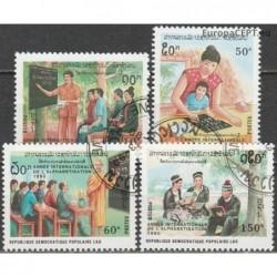 Laos 1990. Education